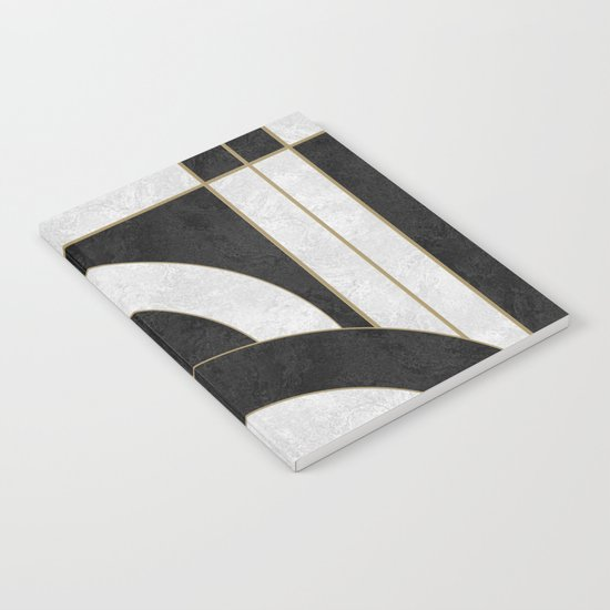 Geometric Marble 01 Notebook
