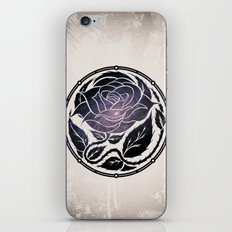 The Rose Medallion iPhone & iPod Skin
