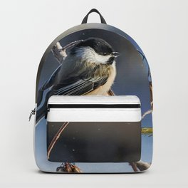 Christmas Chickadee II Backpack