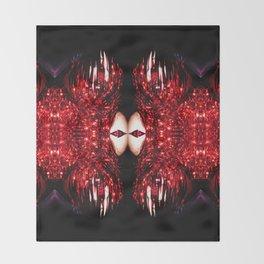 Tinsel Naiad Throw Blanket