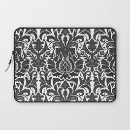 Aya damask mono Laptop Sleeve