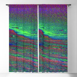 Glitch Aesthetic 2 Blackout Curtain