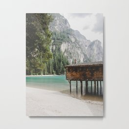 Braies Lake #2 Metal Print