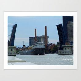 The Cuyahoga Art Print