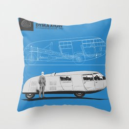 Dymaxion Throw Pillow