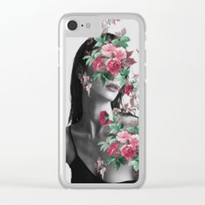 Floral Beauty Clear iPhone Case