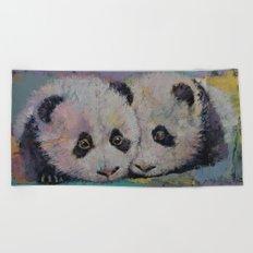 Baby Pandas Beach Towel