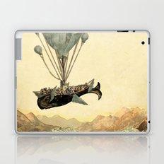 whale flight I Laptop & iPad Skin