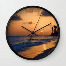 Photo 61 Beach Sunset Wall Clock