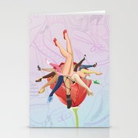 shoe Stationery Cards featuring Shoe Love by Wendy Ding: Illustration