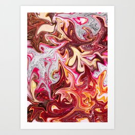 Pomegranate Paradise Art Print