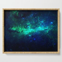 Bright Nebula Serving Tray
