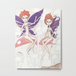 Redhead Pixies Metal Print