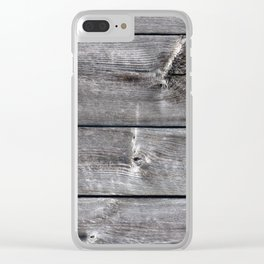 Barn H Clear iPhone Case