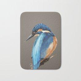 Bird Kingfisher Bath Mat