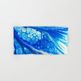 Blue cells Hand & Bath Towel
