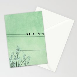 Birds on a Wire, no. 7 Stationery Cards
