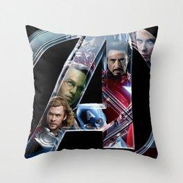 The Avengers 2 Throw Pillow