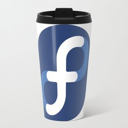 Fedora Linux Travel Mug