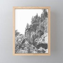 Columbia River Gorge Framed Mini Art Print