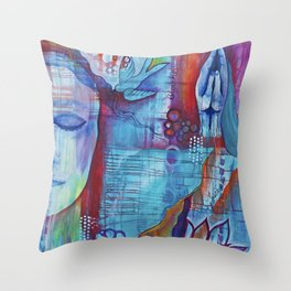 Awaken the Spirit Within Throw Pillow
