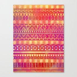 Inspired Aztec Pattern Canvas Print