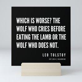 58 | Leo Tolstoy Quotes | 190608 Mini Art Print