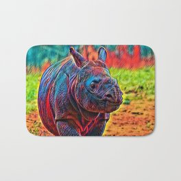 AnimalColor Rhino 001 Bath Mat