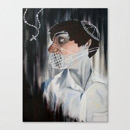 Muzzled Canvas Print