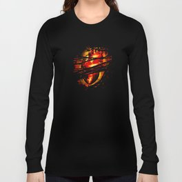 Heart of Fire Long Sleeve T-shirt
