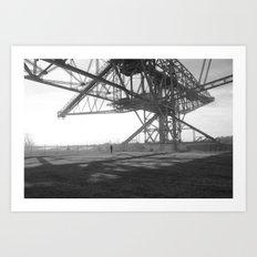 Coal Mine Art Print