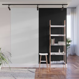 Just Black and White Wall Mural