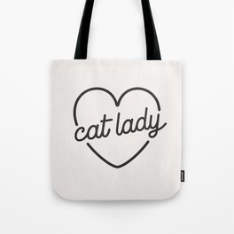 349d161bc1c6 Cat Lady - French Vanilla White Tote Bag