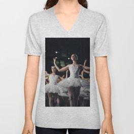 Classic Dance Black swan Unisex V-Neck