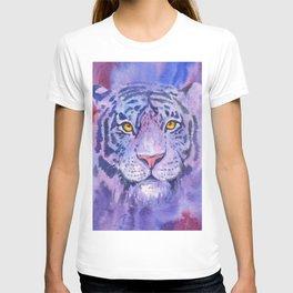 purple tiger T-shirt