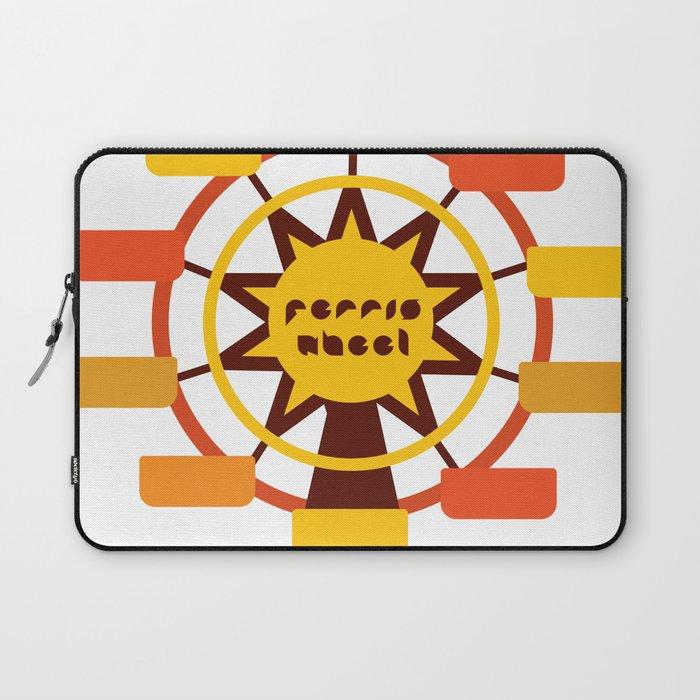 Ferris Wheel / Big wheel / park Laptop Sleeve