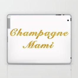 Champagne Mami Laptop & iPad Skin
