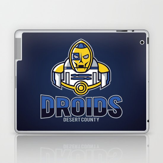 Desert County Droids - Navy Laptop & iPad Skin