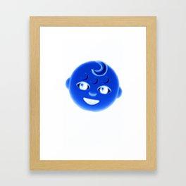 M🌙🌙N 👶 Framed Art Print