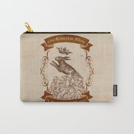Bunny King Carry-All Pouch