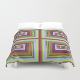 Alchemical Colour Pattern 2 Duvet Cover