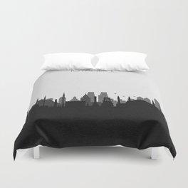 City Skylines: Istanbul Duvet Cover