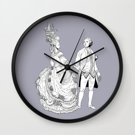 Duke and Duchess Wall Clock