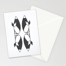 foxy reflected Stationery Cards