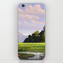 Rural Scape iPhone Skin