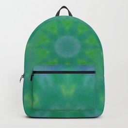 Pastel Geometric flower design Backpack