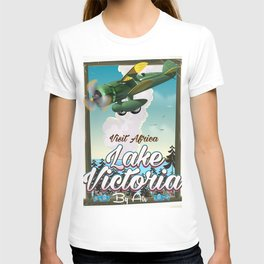 Lake Victoria African vacation poster T-shirt