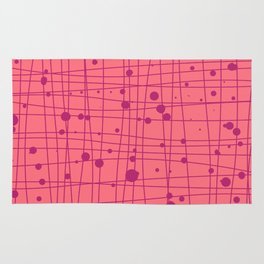 Woven Web pink Rug