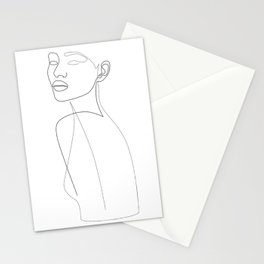 Lordly Girl Stationery Cards