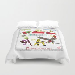 Natural Demographic #6 Duvet Cover